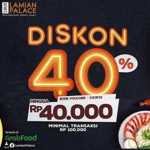 Lamian Palace Diskon 40% (29746870) di Kota Jakarta Selatan