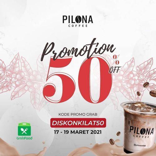 Pilona Coffee DISKON KILAT 50% (29752206) di Kota Jakarta Selatan