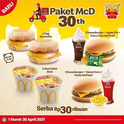McDonald's Indonesia serba Rp30ribuan !! (29752259) di Kota Jakarta Selatan