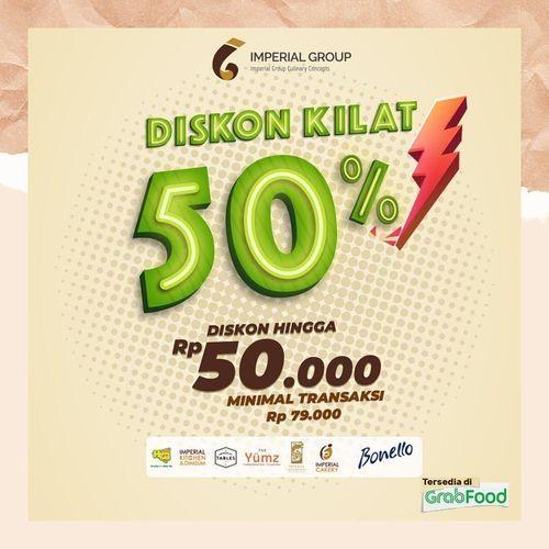 Imperial Kitchen & Dimsum Diskon Kilat 50 % (29752342) di Kota Jakarta Selatan