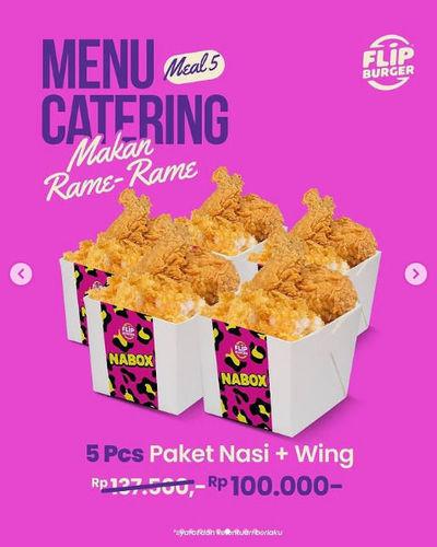 Flip Burger Promo Menu Catering Makan Rame-Rame (29755411) di Kota Jakarta Selatan