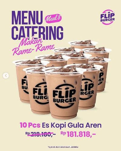 Flip Burger Promo Menu Catering Makan Rame-Rame (29755412) di Kota Jakarta Selatan
