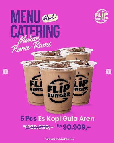 Flip Burger Promo Menu Catering Makan Rame-Rame (29755413) di Kota Jakarta Selatan