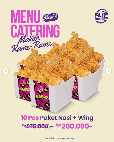 Flip Burger Promo Menu Catering Makan Rame-Rame (29755414) di Kota Jakarta Selatan