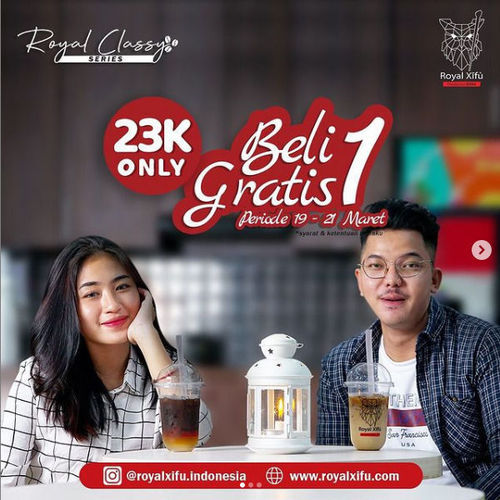 Royal Xifu Beli 1 Gratis 1 (29756207) di Kota Jakarta Selatan