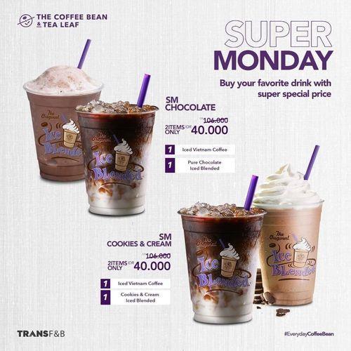 The Coffee Bean promo SUPER MONDAY !! (29775523) di Kota Jakarta Selatan