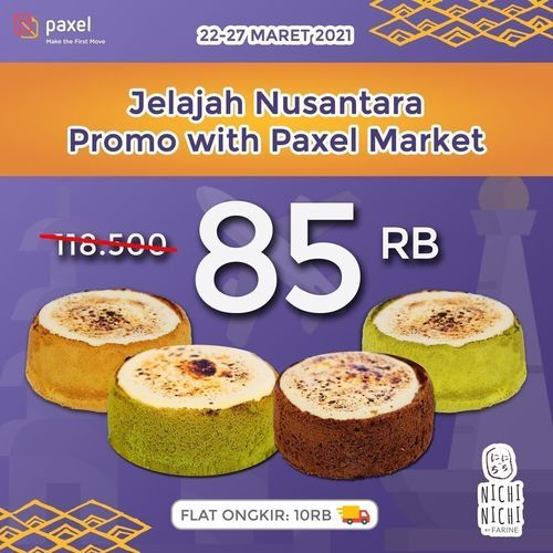 Nichi-Nichi Farine hadir di @paxelmarket dengan PROMO menarik !! (29784332) di Kota Surabaya