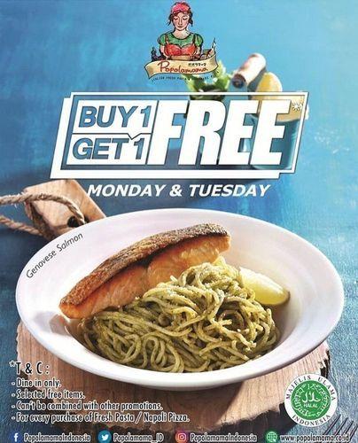Popolamama BUY 1 GET 1 FREE* (29784357) di Kota Jakarta Selatan
