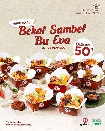 Bekal Sambel Bu Eva hadir untuk #TimBuEva!! PROMO 50% (29784375) di Kota Jakarta Selatan
