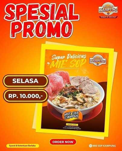MIE SOP KAMPUNG SPECIAL PROMO !! (29784384) di Kota Jakarta Selatan