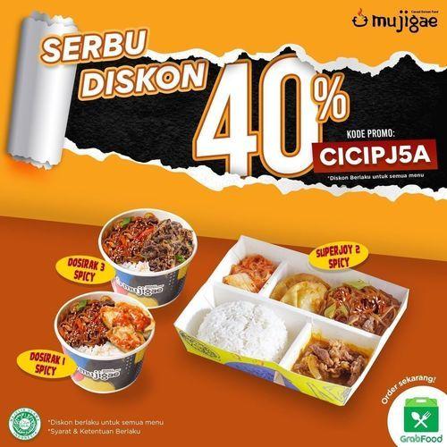 Mujigae SERBU Diskon 40% !! (29784397) di Kota Jakarta Selatan