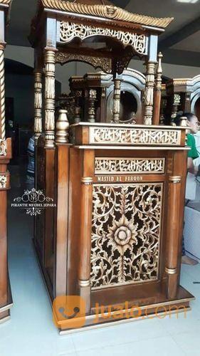 Mimbar Masjid Kubah Ukir Jepara (29787734) di Kab. Rokan Hilir