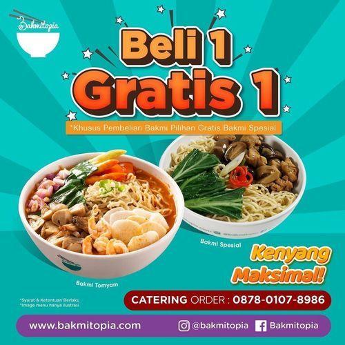 Bakmitopia BELI 1 GRATIS 1 (29791487) di Kota Jakarta Selatan