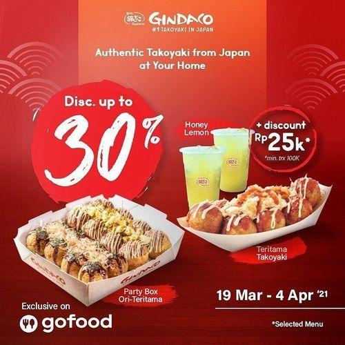 Gindaco.ID promo spesial sampai tanggal 4 April 2021 nanti. !! (29800216) di Kota Jakarta Selatan