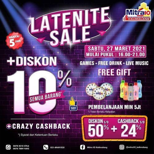 Mitra10 Kalimalang CRAZY PRICE LATENITE SALE MITRA10 KALIMALANG !! (29815132) di Kota Bekasi