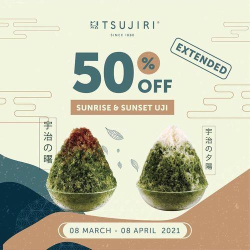 TSUJIRI Get the Sunrise and Sunset Uji for 50% off! (29815627) di Kota Jakarta Selatan