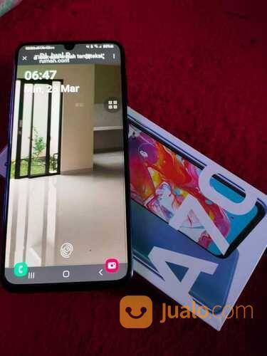 Samsung Galaxy A70 Full Set Blue Mulus 6/128Gb (29826159) di Kota Bekasi