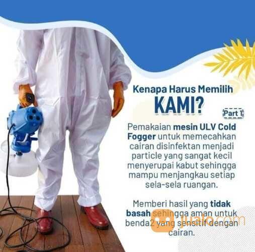 Fogging Semprot Disinfektan Ayyubi Solution (29833041) di Kota Bekasi