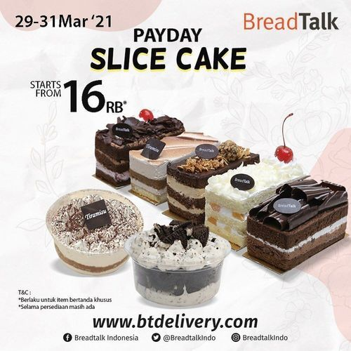 Grand City Surabaya Mall & Convex BREADTALK PAYDAY !! (29835391) di Kota Surabaya