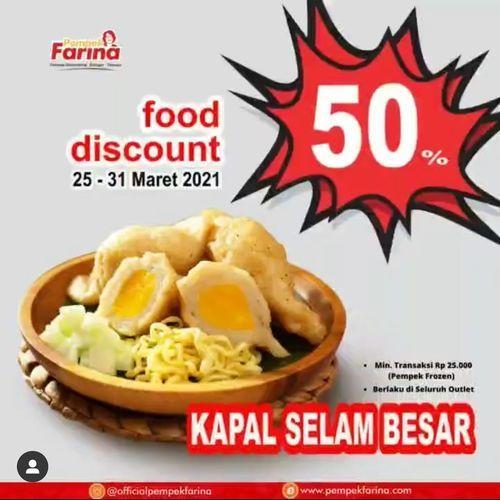 Grand City Surabaya Mall & Convex Pempek Farina 50% khusus Kapal Selam Besar!! (29835398) di Kota Surabaya