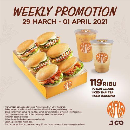 JCO Donuts & Coffee Weekly Promotion !! (29836152) di Kota Jakarta Selatan