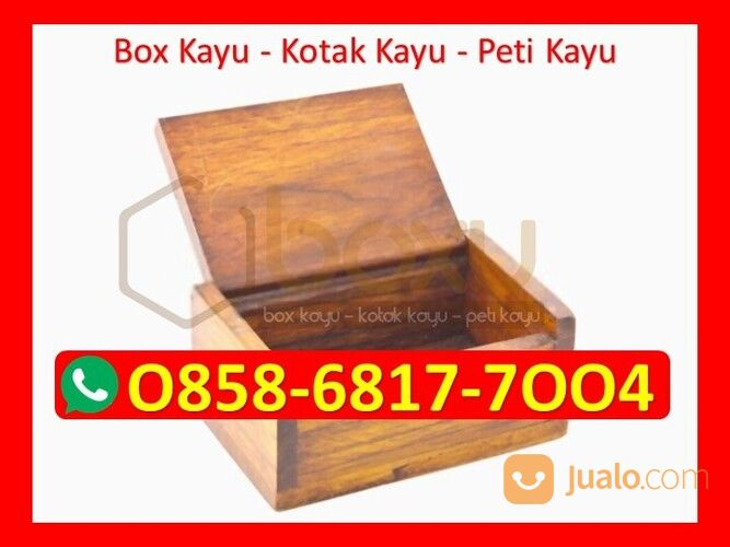 O858-68I7-7OO4 Harga Kotak Saran Dari Kayu (29837688) di Kota Magelang