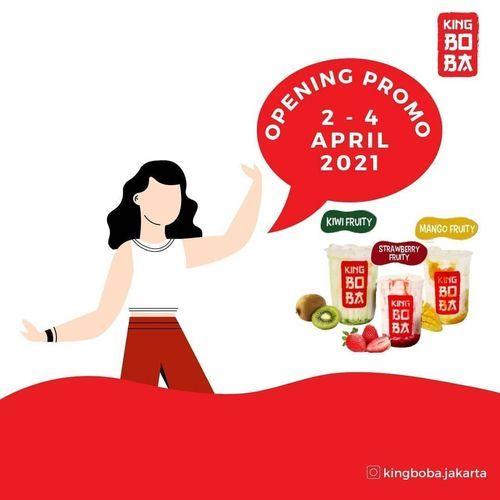 King Boba Opening Promo !! (29858107) di Kota Jakarta Timur