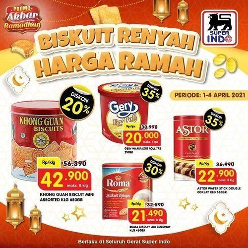 Super Indo - Biskuit Renyah Harga Ramah !! (29858364) di Kota Jakarta Selatan