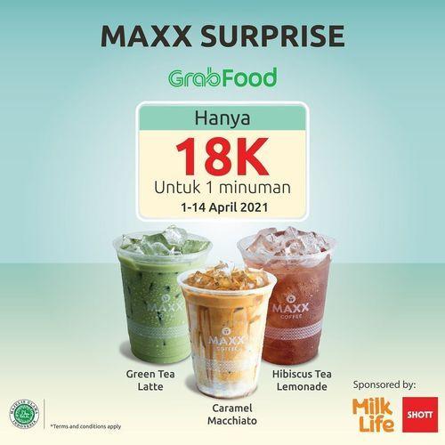 Maxx Coffee - Maxx Surprise hanya 18K !! (29858534) di Kota Jakarta Selatan