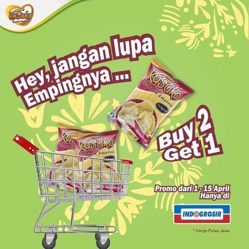 Kusuka Keripik Singkong PROMO Buy 2 Get 1 !! (29860983) di Kota Jakarta Selatan