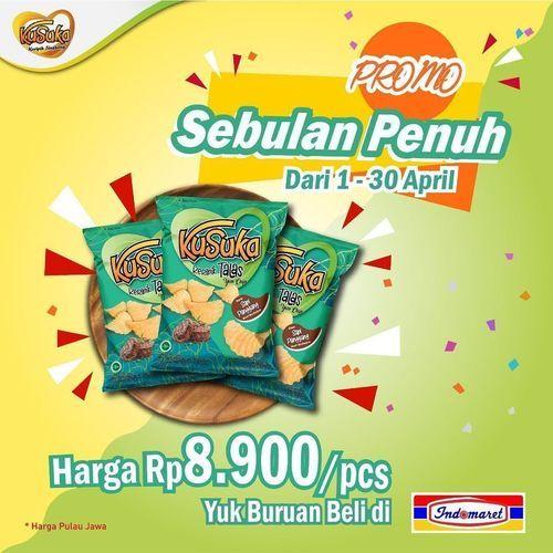 Kusuka Keripik Singkong PROMO SEBULAN PENUH lhooo !! (29860986) di Kota Jakarta Selatan