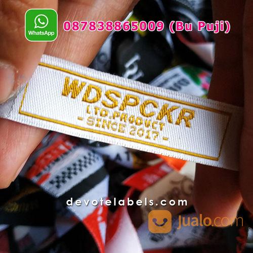 TERPERCAYA 087838865009 Jasa Pembuatan Label Baju Pamekasan (29862776) di Kab. Nganjuk