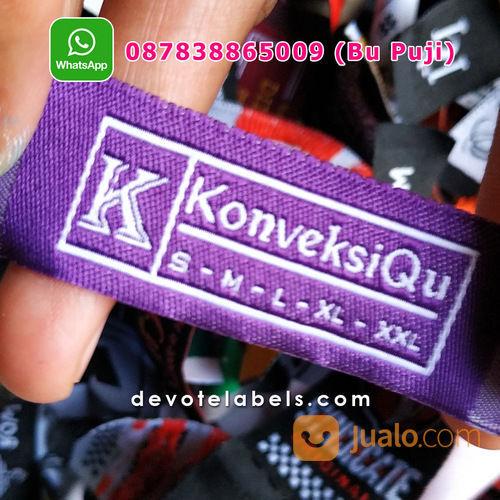 TERPERCAYA 087838865009 Jasa Pembuatan Label Baju Pamekasan (29862777) di Kab. Nganjuk