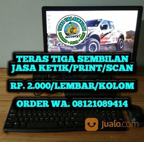 JASA KETIK - TERAS 39 (29863085) di Kab. Bekasi