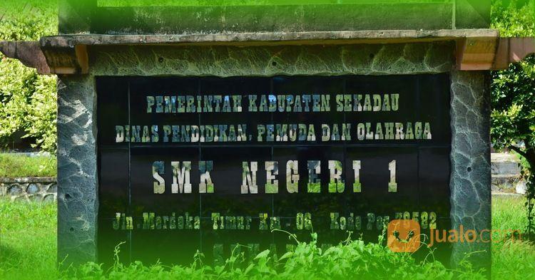 Jasa Pembuatan Huruf Timbul Stainless Merek Sekolah Yogyakarta (29870721) di Kab. Nunukan