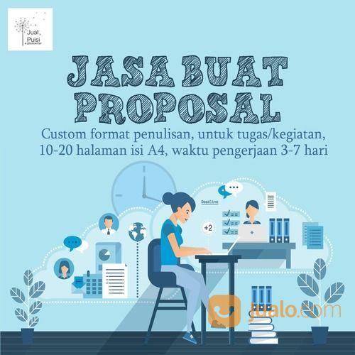 Jasa Buat Proposal Tugas Sekolah, Kuliah, Kerja Dijamin 100% Orisinil (29872922) di Kab. Lamongan