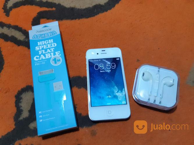 Apple IPhone 4 White 32GB (29873185) di Kota Jakarta Selatan