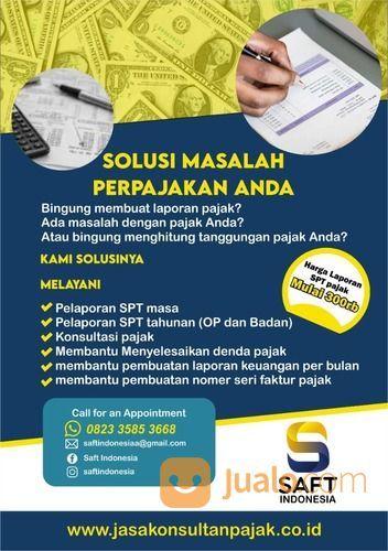 Jasa Lapor SPT Tahunan Pribadi & Badan, PKP, Termurah & Berpengalaman Di Banten (29891777) di Kota Cilegon