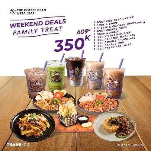 The Coffee Bean Weekend Deals Family Treat (29900983) di Kota Jakarta Selatan