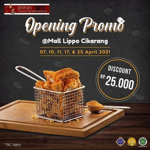 Shihlin Taiwan Street Snacks Opening Promo (29901440) di Kota Bekasi