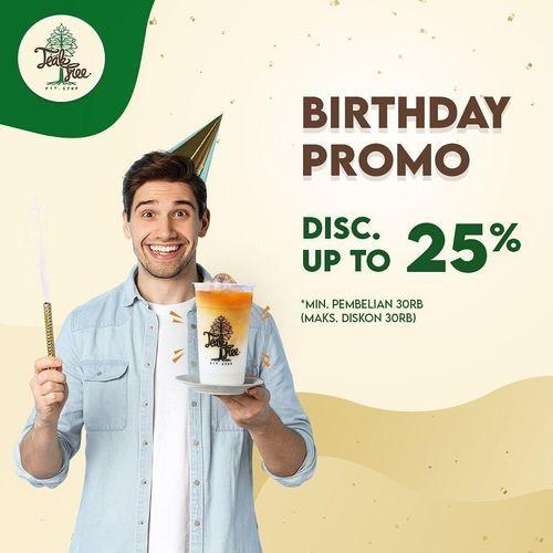 Teak Tree BIRTHDAY PROMO DISC. UP TO 25 % (29912402) di Kota Surabaya