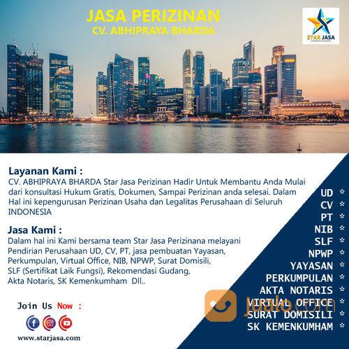 Jasa Pendirian Perusahaan Jogja UD CV PT Jasa Penerbitan SLF Jasa Pembuatan NPWP Online (29912597) di Kab. Bantul