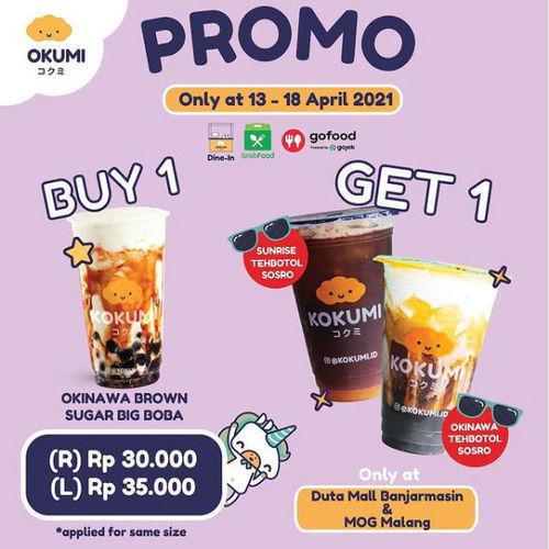 Promo Kokumi Buy 1 Get 1 (29915517) di Kota Jakarta Selatan