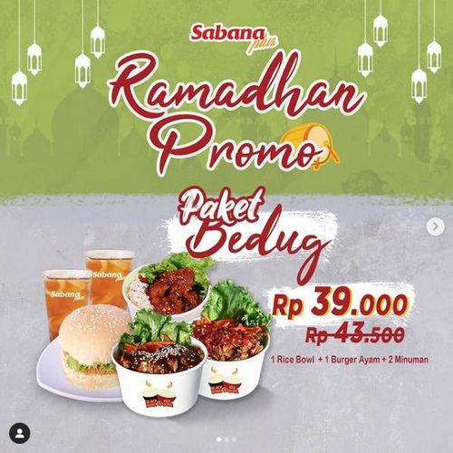 Sabana Plus Ramadhan Promo Paket Bedug (29916838) di Kota Bekasi
