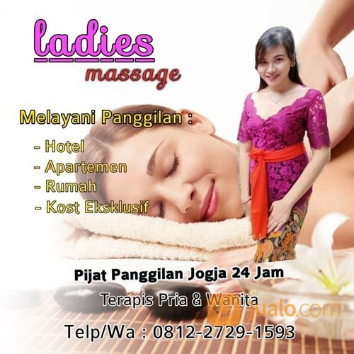 Massage & Pijat Panggilan Jogja 24 Jam Terapis Wanita (29919512) di Kota Yogyakarta