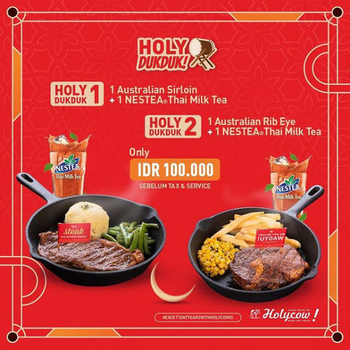 Holycow Promo HolyDukduk (29921535) di Kota Jakarta Selatan