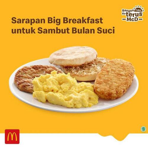 McDonald's Paket Big Breakfast (29922863) di Kota Jakarta Selatan