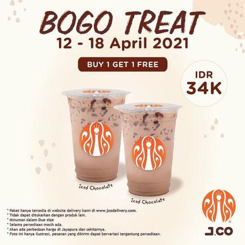 JCO Promo Buy 1 Get 1 (29926914) di Kota Jakarta Selatan