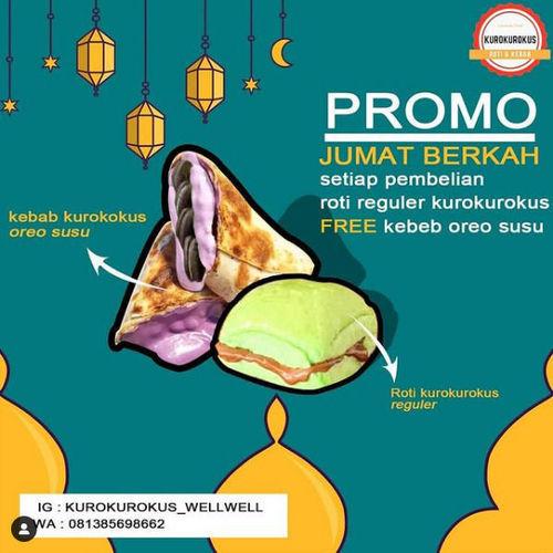Kurokurokus Promo Jum'at Berkah (29934625) di Kota Bekasi