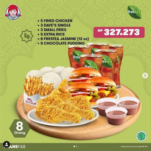 Wendy's Promo Puas Ramadhan (29935259) di Kota Jakarta Selatan